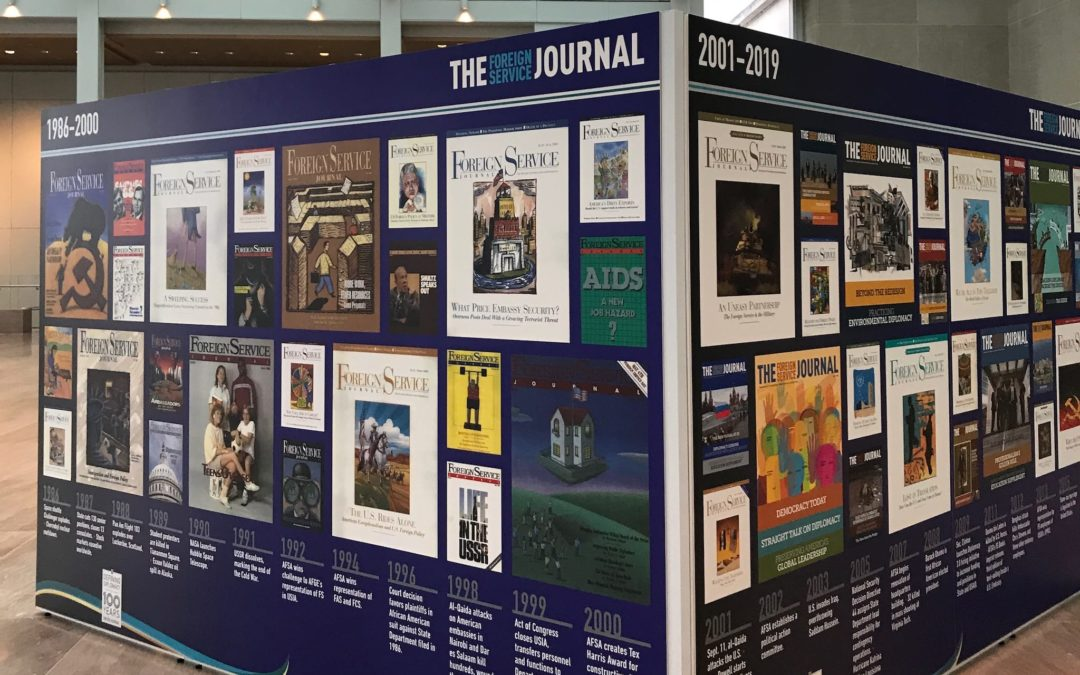 The Foreign Service Journal Celebrates 100 Years of Publishing with Exhibit