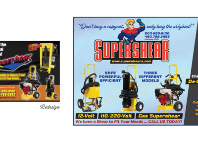 Supershear Ad