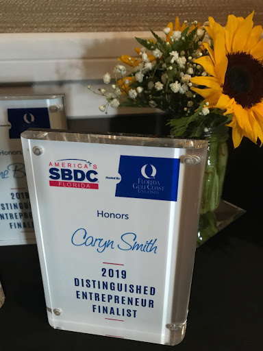 Caryn Smith named Finalist in the Small Business Development Center 2019 Distinguished Entrepreneur Awards